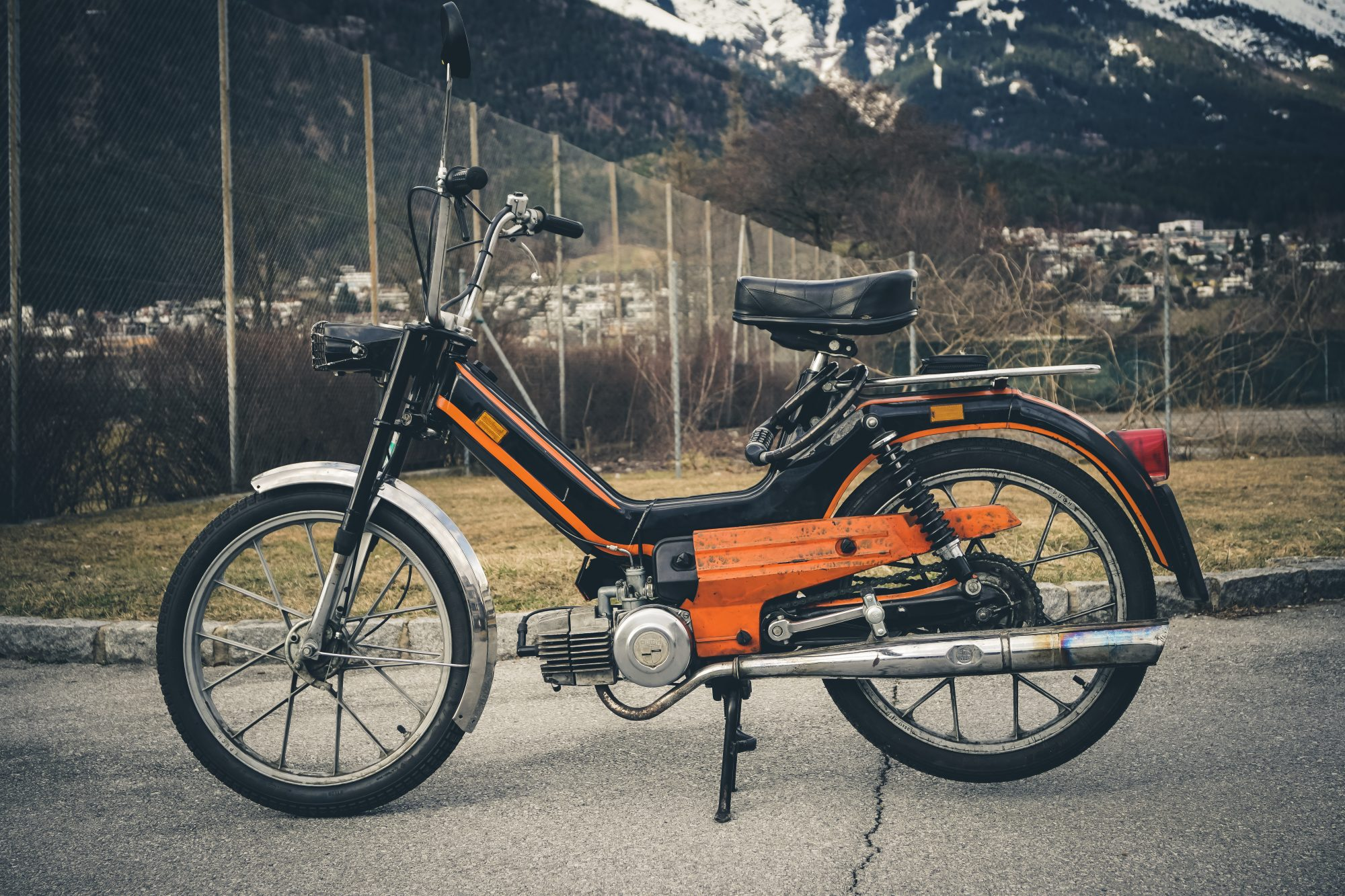 Maxi Touring – Long Distance Puch Maxi Moped Travel